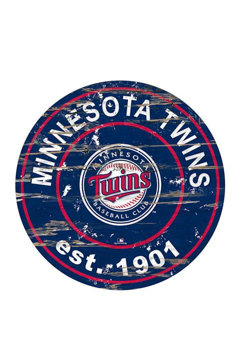 Fan Creations MLB Minnesota Twins 24 Inch Established