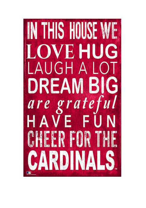 Fan Creations MLB St. Louis Cardinals In This
