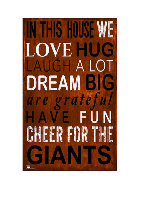 Fan Creations MLB San Francisco Giants In This