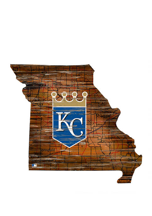 Fan Creations MLB KC Royals 24 Inch Distressed