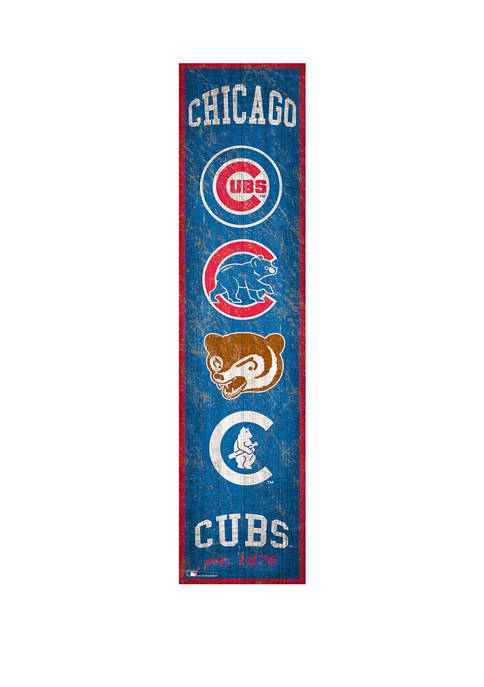 Fan Creations MLB Chicago Cubs Heritage Banner