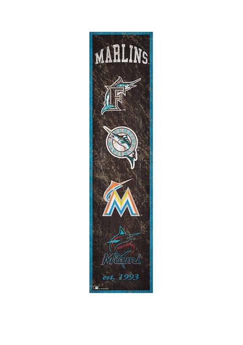 Fan Creations MLB Miami Marlins 6 in x