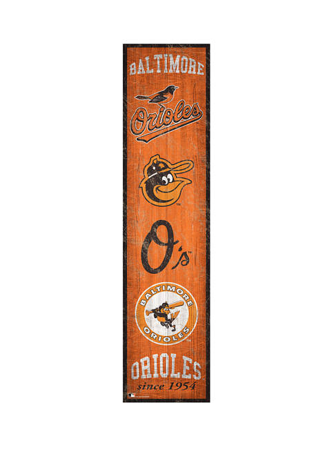 Fan Creations MLB Baltimore Orioles 6 in x