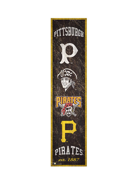 Fan Creations MLB Pittsburgh Pirates 6 in x