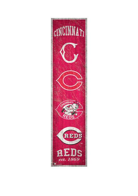 Fan Creations MLB Cincinnati Reds 6 in x