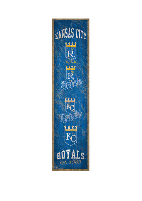 Fan Creations MLB KC Royals Heritage Banner
