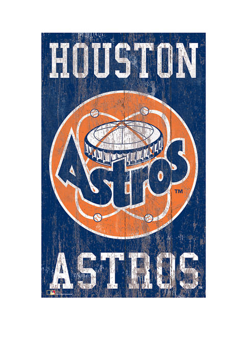 Fan Creations MLB Houston Astros 11 in x
