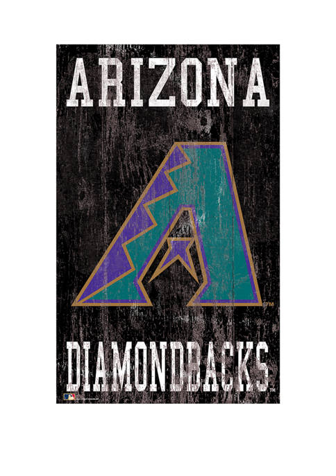 Fan Creations MLB Arizona Diamondbacks 11 in x