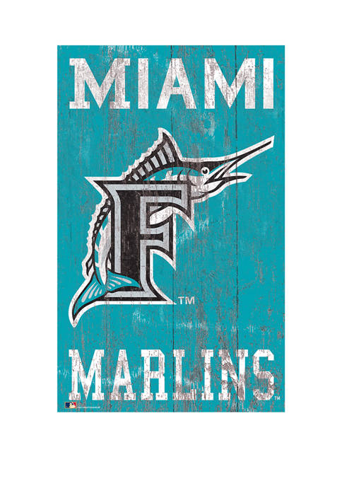 Fan Creations MLB Miami Marlins 11 in x