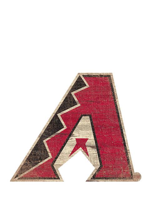 Fan Creations MLB Arizona Diamondbacks Distressed Logo Cutout