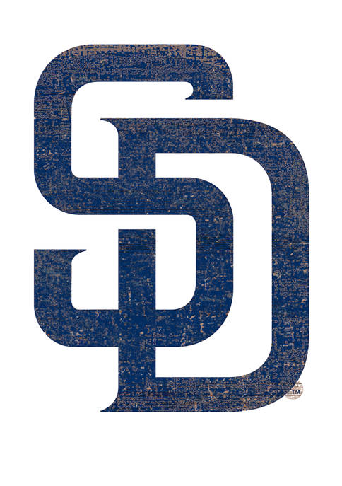 Fan Creations MLB San Diego Padres Distressed Logo