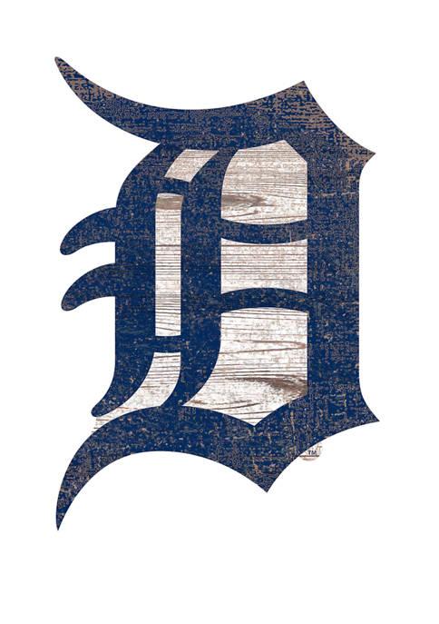 Fan Creations MLB Detroit Tigers Distressed Logo Cutout