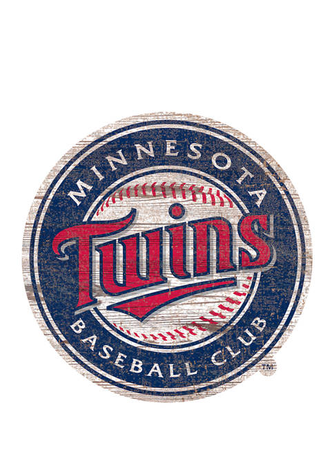 Fan Creations MLB Minnesota Twins Distressed Logo Cutout