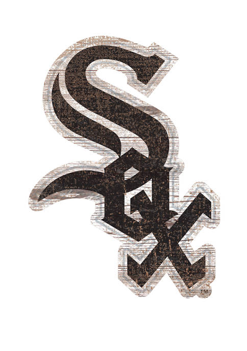 Fan Creations MLB Chicago White Sox Distressed Logo