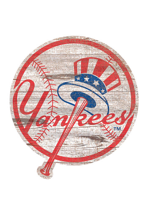 Fan Creations MLB New York Yankees Distressed Logo