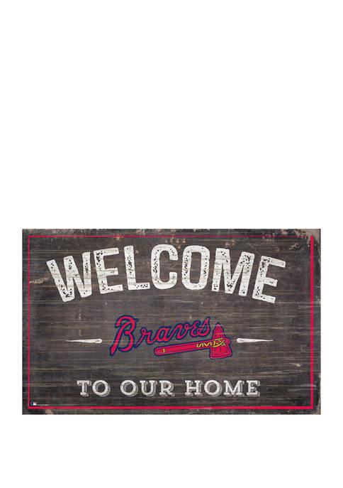 Fan Creations MLB Atlanta Braves 11 in x