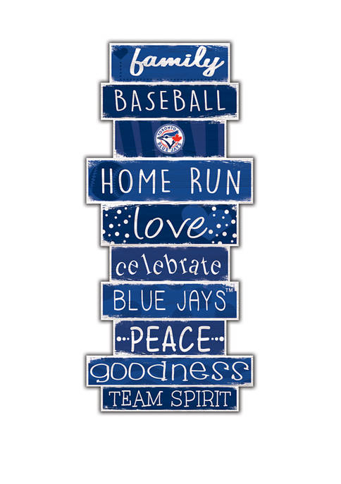 MLB Toronto Blue Jays Celebrations Stack 24 in x 10 in Sign