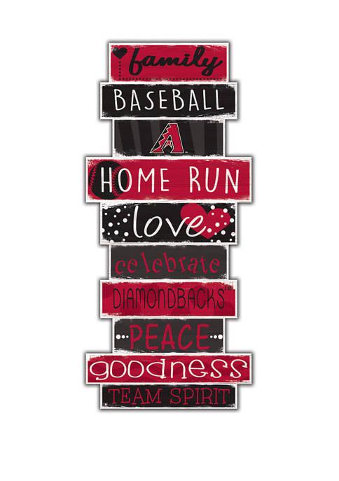 Fan Creations MLB Arizona Diamondbacks Celebrations Stack 24