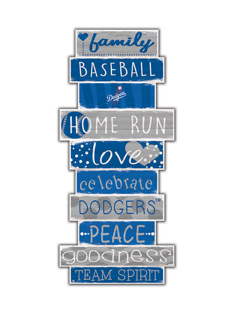 Fan Creations MLB Los Angeles Dodgers Celebrations Stack
