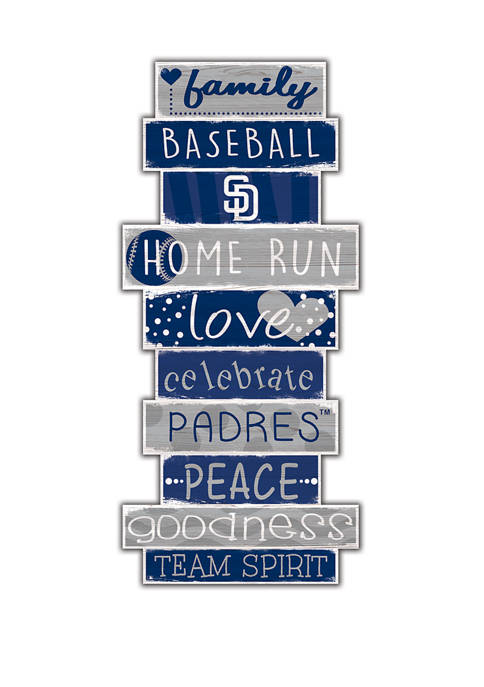 Fan Creations MLB San Diego Padres Celebrations Stack