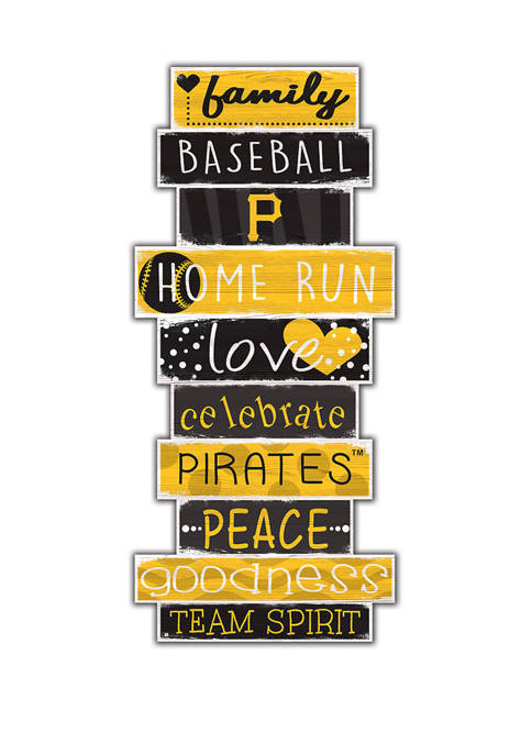 Fan Creations MLB Pittsburgh Pirates Celebrations Stack 24