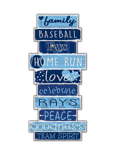 Fan Creations MLB Tampa Bay Rays Celebrations Stack