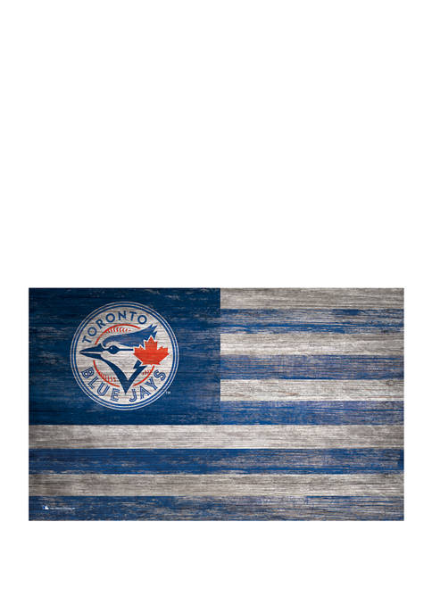 Fan Creations MLB Toronto Blue Jays Distressed Flag