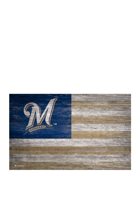 Fan Creations MLB Milwaukee Brewers 11 in x