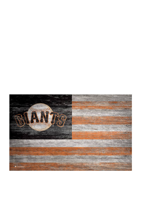 Fan Creations MLB San Francisco Giants Distressed Flag