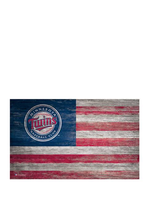 Fan Creations MLB Minnesota Twins 11 in x