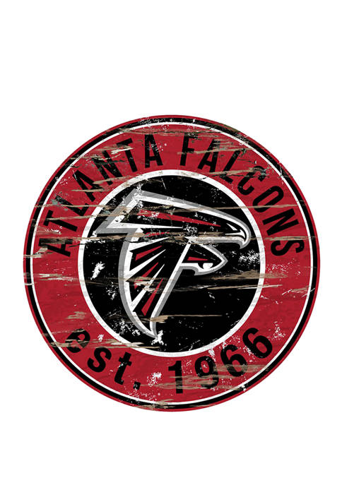 Fan Creations NFL Atlanta Falcons 24 Inch Round
