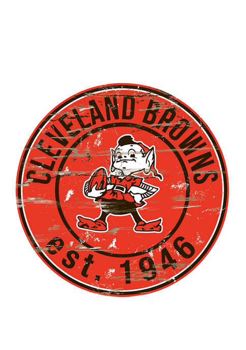 Fan Creations NFL Cleveland Browns 24 Inch Round