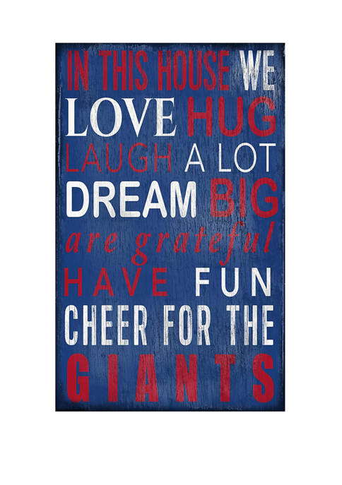Fan Creations NFL New York Giants 11 in