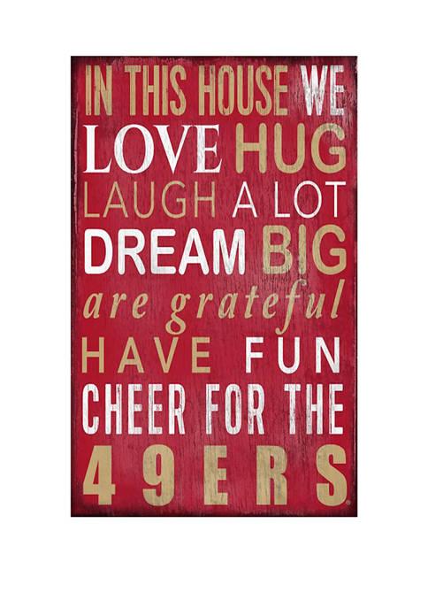 Fan Creations NFL San Francisco 49ers 11 in