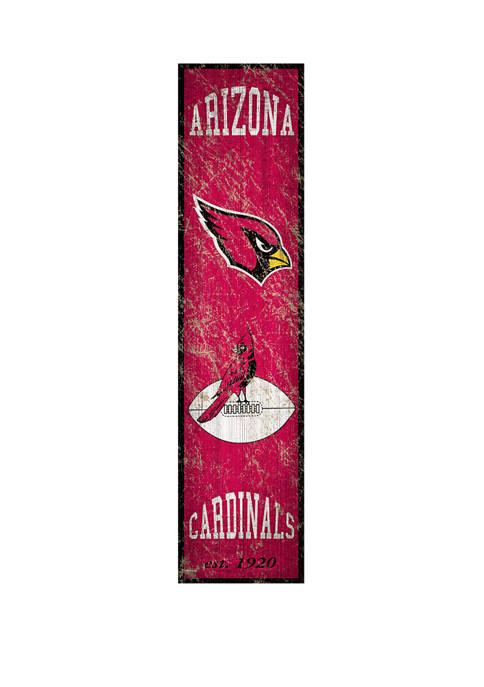 Fan Creations NFL Arizona Cardinals Heritage Banner Vertical