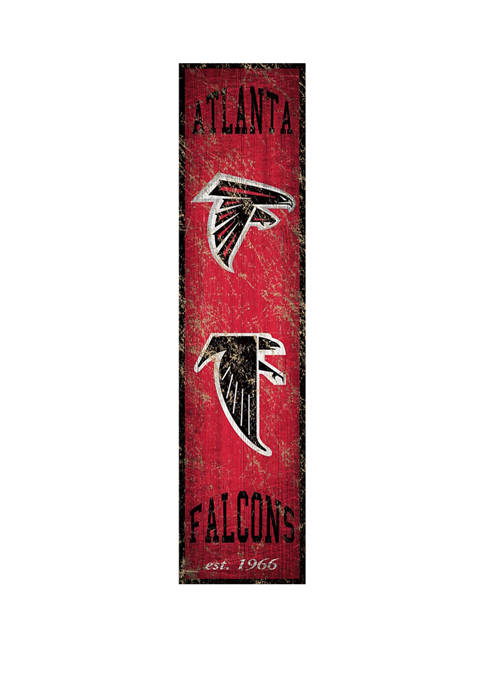 Fan Creations NFL Atlanta Falcons Heritage Banner Vertical
