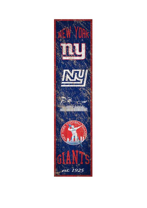 Fan Creations NFL New York Giants 6 in