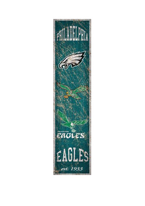 NFL Philadelphia Eagles 6 in x 24 in Vertical Heritage Banner