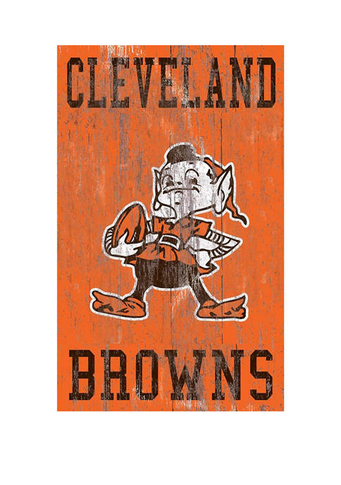 Fan Creations NFL Cleveland Browns 11 in x