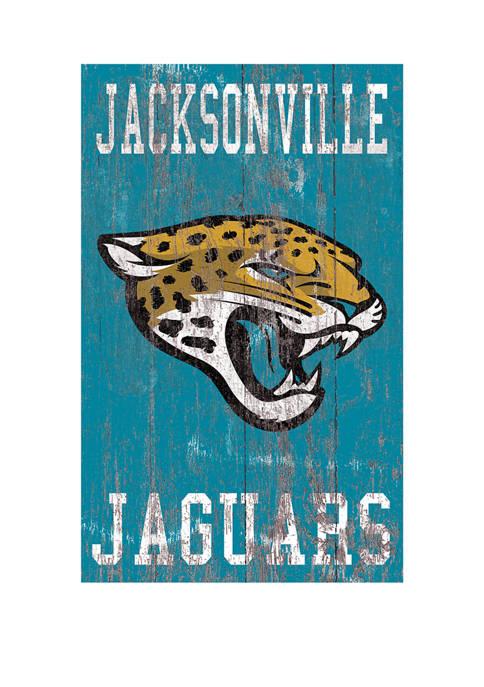 Fan Creations NFL Jacksonville Jaguars 11 in x