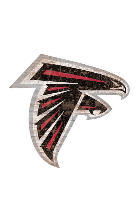 Fan Creations NFL Atlanta Falcons Distressed Logo Cutout
