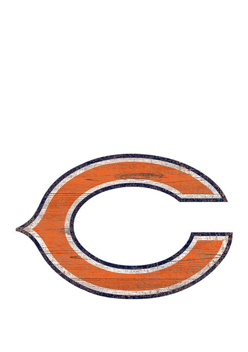 Fan Creations NFL Chicago Bears Distressed Logo Cutout