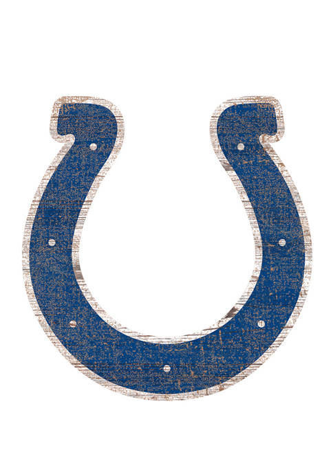Fan Creations NFL Indianapolis Colts Distressed Logo Cutout