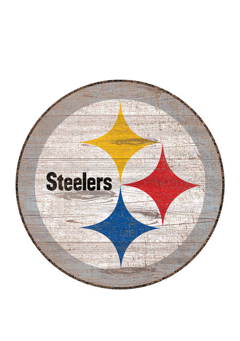 Fan Creations NFL Pittsburgh Steelers Distressed Logo Cutout