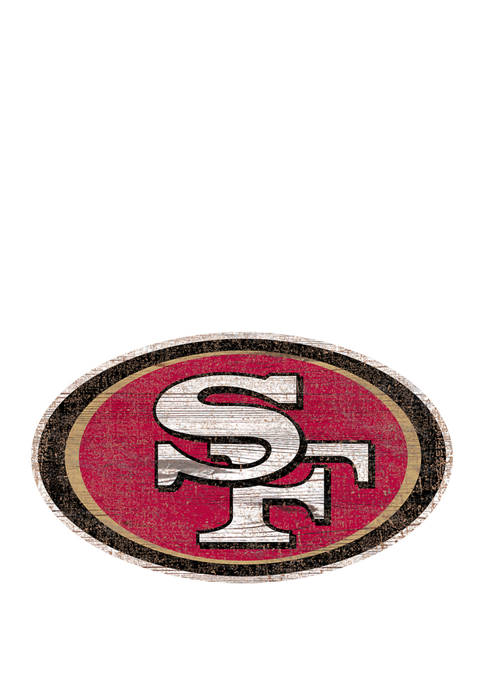 Fan Creations NFL San Francisco 49ers Distressed Logo