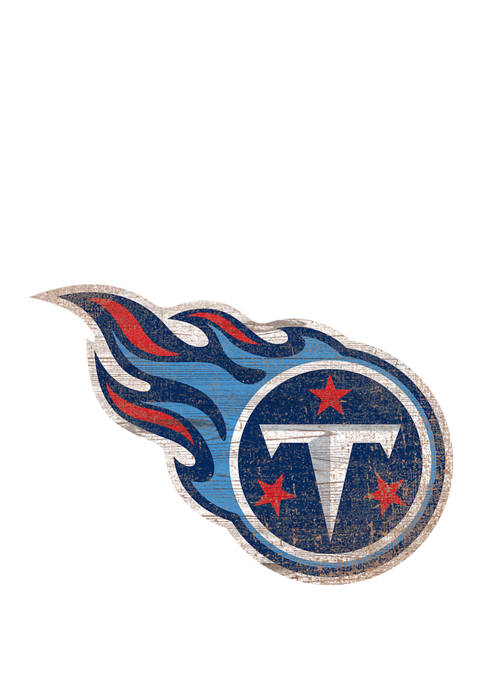 Fan Creations NFL Tennessee Titans Distressed Logo Cutout