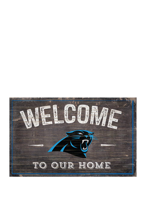 Fan Creations NFL Carolina Panthers 11 in x
