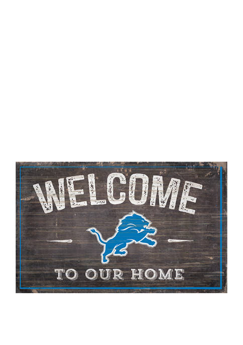 Fan Creations NFL Detroit Lions 11 in x