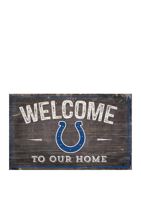 Fan Creations NFL Indianapolis Colts 11 in x