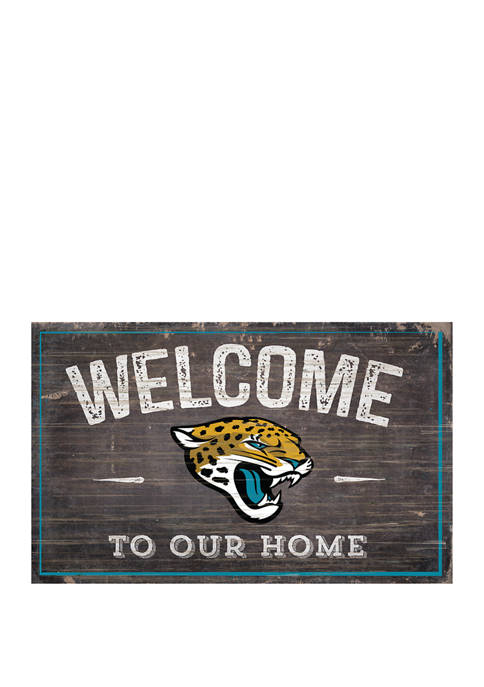 Fan Creations NFL Jacksonville Jaguars 11 in x
